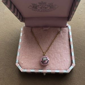 Juicy couture cupcake locket necklace